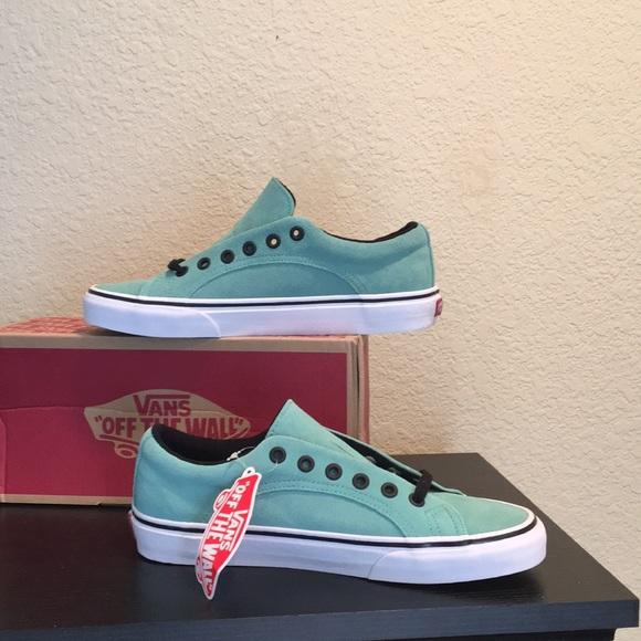 8ddfc2e68d Vans Suede blue green lampin wasabi